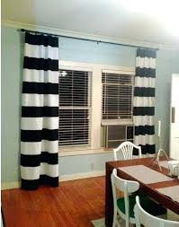 blue and white striped curtains blue white striped nautical