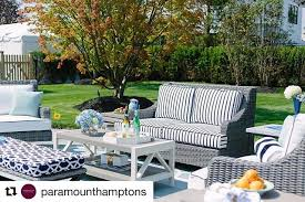 Hamptons Style Outdoor Furniture by Libby Langdon At The Traditional Home 2017 Hampton Designer