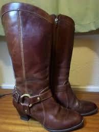 cowboy boots uk leather gorgeous vintage brown leather clarks cowboy boots uk size 5 5 ebay