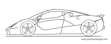 draw a sports car junior car designer