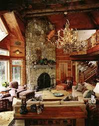Log Cabin Bedroom Ideas Log Cabin Interior Design 47 Cabin Decor Ideas