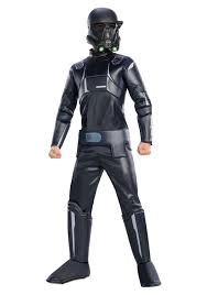 star wars rogue one deluxe shadow trooper costume for boys