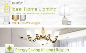 kindeep g9 led bulb 5w 400lm 40 watt halogen bulbs equivalent