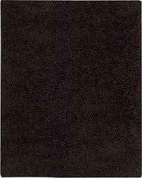 Zen Area Rugs Amazing Deal On Shag Zen Area Rug Rectangle Espresso 3 6 X5 6