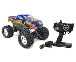 rc monster truck racing racing ground pounder 1 10 electric rtr rc monster truck