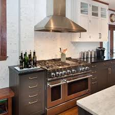 Grey Shaker Kitchen Cabinets by Charcoal Gray Shaker Kitchen Cabinets Design Ideas