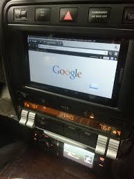 Porsche Cayenne Navigation System - installed galaxy tablet as head unit 6speedonline porsche