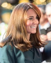 princess kate shows off new shorter do marie claire malaysia