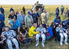 russian soyuz tma 15m spacecraft landed 13 june 2015