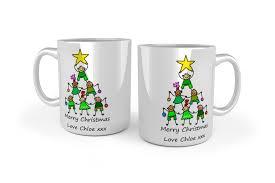 christmas mug personalised christmas mugs school bears