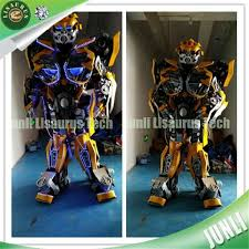 Coolest Transforming Bumblebee Transformer Costume Transformer Transformers Movie Transforming Bumblebee Yellow
