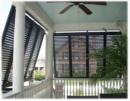 interior porch blinds rolling shade screens clear cafe cheap