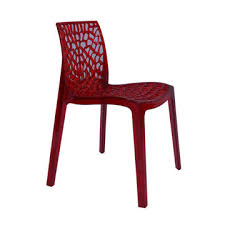 bureau r馮lable china plastic transparent dining chair from langfang wholesaler
