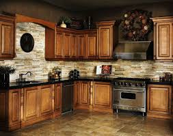 Ceramic Tile Backsplash Ideas For Kitchens Ceramic Tile Backsplash Large Arched Window Beige Metal Cushioned