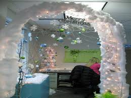 Cubicle Decor Ideas by Office Christmas Decorations
