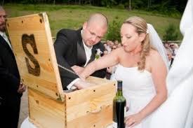 wine box wedding ceremony wine box ceremony photos