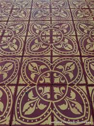 small french morialme ceramic floor neo gothic design and the photographs are of a random representative section of the floor and being ceramic encaustic the floor can be laid both inside and outside of the home