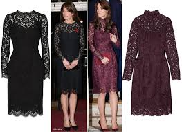 the duchess wears d u0026g for festival of remembrance what kate wore