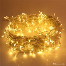 dimmable outdoor led string light led string lights 164ft 50m outdoor string lights 250 led warm white