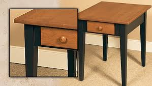 Shaker End Table Classic Shaker Table