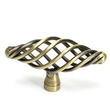 Vintage Kitchen Cabinet Pulls Aliexpress Com Buy 72mm Antique Bronze Color Twist Cage Spiral