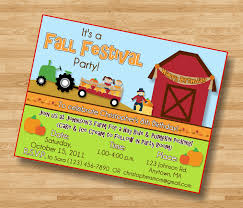 fall birthday party invitations cimvitation