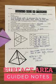 46 best volume and surface area images on pinterest surface area