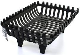 cast iron log basket fireside 16