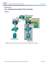 configuring zone based policy firewalls ip address router