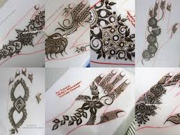 gulf style floral henna mehndi designs with tutorial nidhi u0027s art