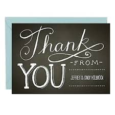 personalized thank you cards custom thank you notes paper source