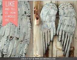 distressed wood home decor huge distressed wood angel wings hometalk