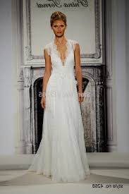 a line lace wedding dress with cap sleeves naf dresses