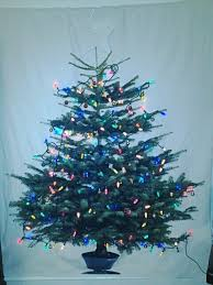 ikea margareta fabric panel tree with lights and