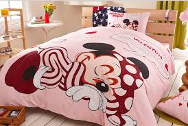 Minnie Mouse Single Duvet Set Minnie Mouse Twin Bedding Set Disney Minnie Mouse Bow Pink Full