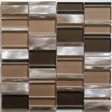 plaque aluminium pour cuisine mosaïque de salle de bain et cuisine aluminium et verre ceti