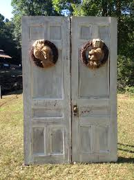 amazing double swing front rustic doors with two panels as well as