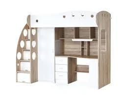 bureau pour lit mezzanine mezzanine avec rangement bureau lit mezzanine bureau pas lit