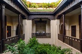 Interior Courtyard Moroccan Nights At Dar Les Cigognes U2014 No Destinations