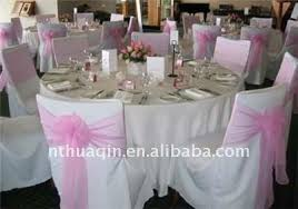 table ronde mariage blanc 100 polyester couverture table ronde nappe linge de table