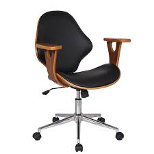 Adjustable Height Desk Chair by Joveco Bentwood Arm Rest Adjustable Height Swivel Desk Chair
