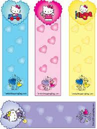 kitty bookmarks kitty bookmarks free printable