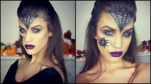 glam witch halloween makeup tutorial karin dragos youtube