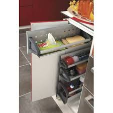 cuisine rangement coulissant panier de rangement coulissant meuble bas accessoires de cuisine