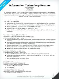 management skills for a resume technical skills for a resume information technology it resume