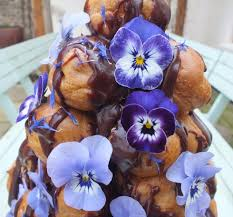 edible blue flowers edible flower croquembouche fresh edible flowers from maddocks