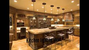 Kitchen Island Lighting Ideas by Marvellous Kitchen Lighting Ideas Youtube