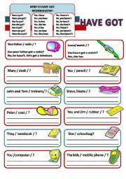 english worksheets present worksheets page 158