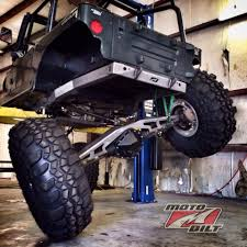 stock jeep suspension custom build jeep yj 4 link suspension and back half kit by