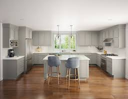 gray stained kitchen cupboards great gray kitchen ideas when redesigning your home aco